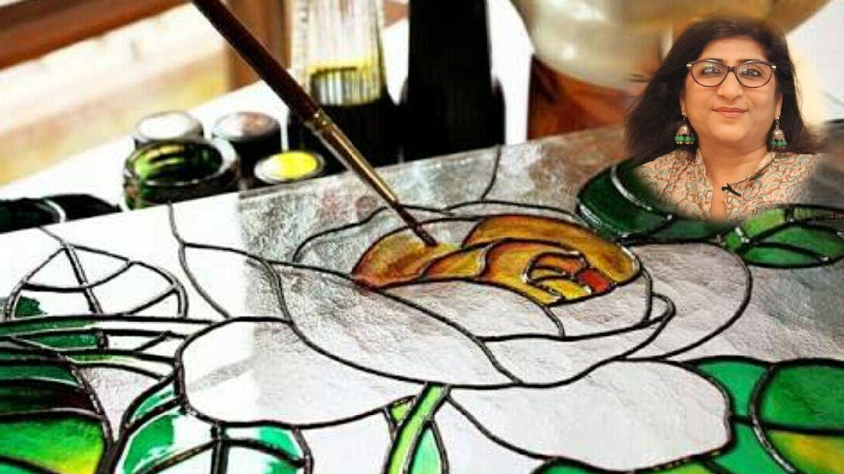 Career in Glass Painting